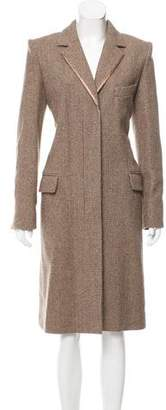 Chloé Structured Wool Coat