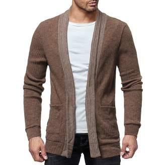 7d2ea67b1237 Teresamoon-Jacket Sale! Teresamoon Men s Fashion Solid Cardigan Sweater  Sweatshirts Casual Slim Fit Jacket
