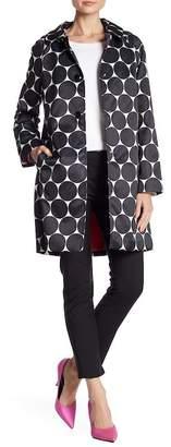 Kate Spade Dot Printed Trench Coat