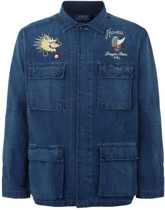 Polo Ralph Lauren Embroidered Denim Jacket