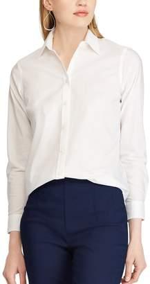 Chaps Petite Non-Iron Button Down Shirt