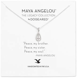 Dogeared Maya Angelou Collection Silver Necklace