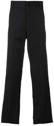 Carhartt patch detail straight leg trousers