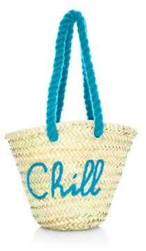 Poolside Women's Chill Mini Beach Tote - Turquoise