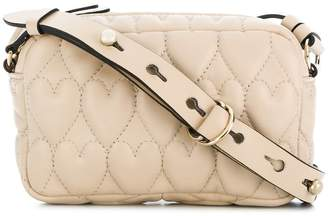 RED Valentino heart quilted crossbody