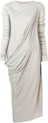 Rick Owens Lilies asymmetric draped dress