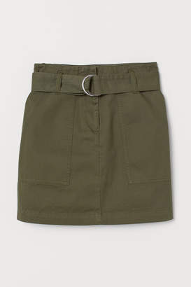 H&M Cargo Skirt - Green