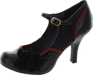 Ruby Shoo Women's Ashley Patent Mid Heel Court Shoe Uk 4 - Eu 37 - Us 6