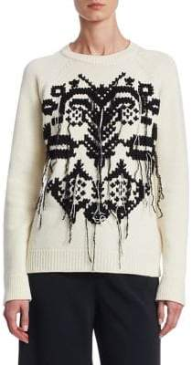 RED Valentino Lurex-Knit Sweater