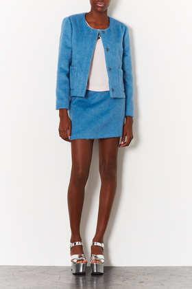 Topshop Fluffy Pelmet Skirt
