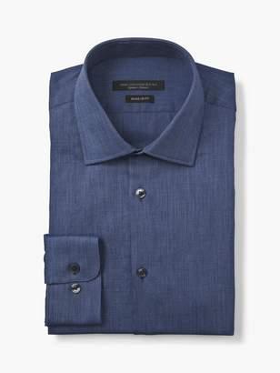John Varvatos Regular Fit Solid Dress Shirt