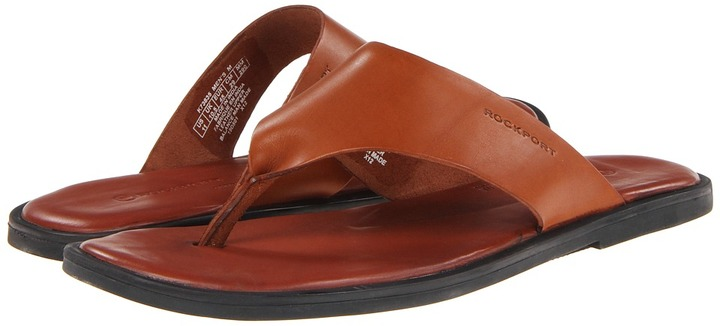 Rockport Beach Affair Thong (British Tan) - Footwear