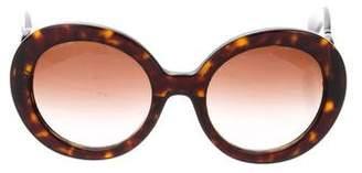 5ec62853ec1 ... spr270 55541 a12fa 138fc  discount code for pre owned at therealreal  prada baroque tortoiseshell sunglasses 49d77 82029