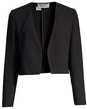 BOSS Women's Bonded Micro Cropped Jacket