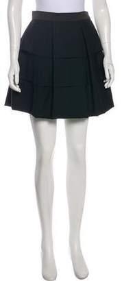 3.1 Phillip Lim Wool Pleated Mini Skirt