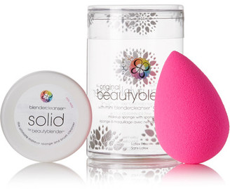 beautyblender - Beautyblender Original And Blendercleanser Solid Set - Pink $25 thestylecure.com