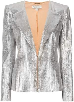 Rachel Zoe metallic blazer