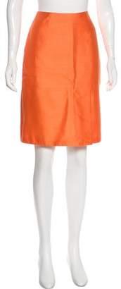 LK Bennett Silk-Blend Pencil Skirt