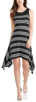 Elite Brands Women's Sleeveless Sharkbite Dress