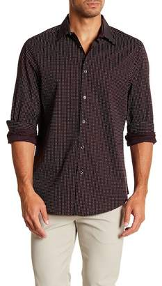 Perry Ellis Mini Dot Slim Fit Shirt