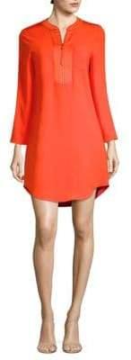 Trina Turk Kaiko Quarter-Zip Dress