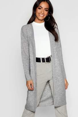 boohoo Fluffy Knit Cardigan