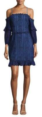 Parker Irma Off-The-Shoulder Lace Dress