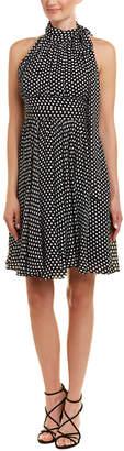Milly Lydia Silk A-Line Dress