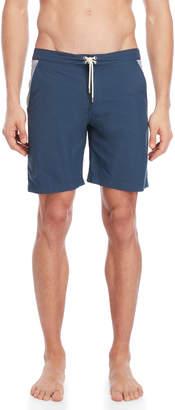 Solid & Striped Seersucker Pocket Boardshorts