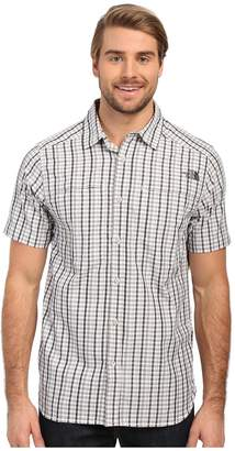 The North Face Short Sleeve Traverse Plaid Shirt Men's Short Sleeve Button Up
