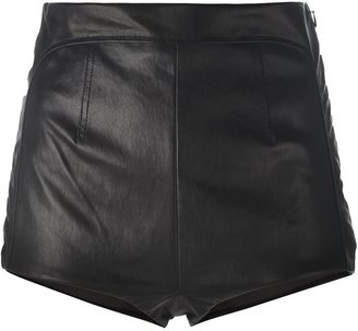 La Perla 'Leisuring' high-waisted shorts $1,548 thestylecure.com