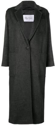 Max Mara long single-button overcoat