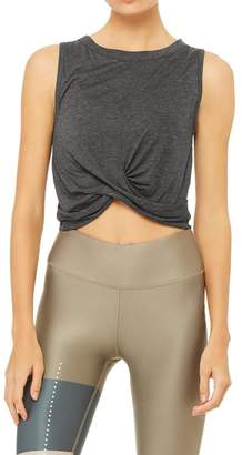 Alo Yoga Cover Tank - Grey