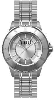 Versace Tokyo Stainless Steel Silvertone Watch, SH7190015