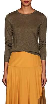 Barneys New York Women's Metallic Silk-Blend Sweater
