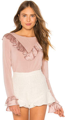 Generation Love Scarlett Ruffle Top