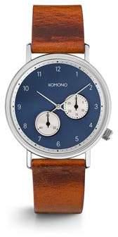 Komono Walther Cognac Watch