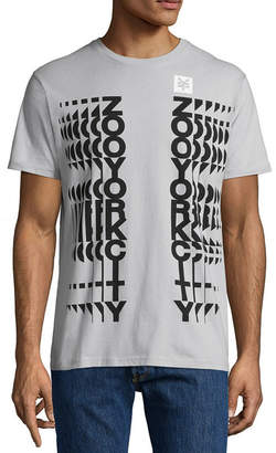 Zoo York Mens Crew Neck Short Sleeve Graphic T-Shirt