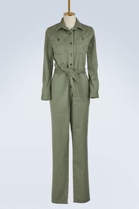 A.P.C. Zucca cotton jumpsuit