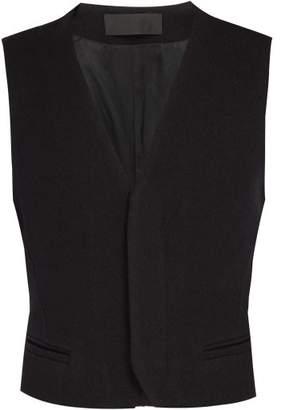 Haider Ackermann Wool Waistcoat - Mens - Black