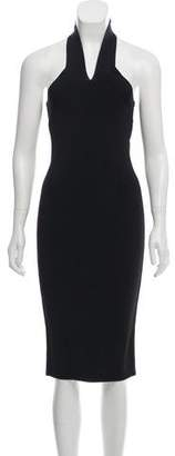 Alexander Wang Halter Ponte Dress