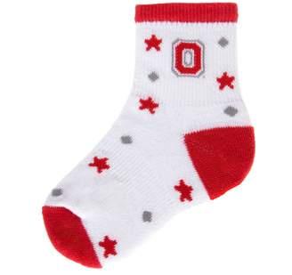 """NCAA Mojo Ohio State Buckeyes """"I'm a Star"""" Cushioned Crew Socks - Baby"""