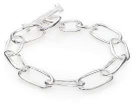 Ippolita Glamazon Sterling Silver Elongated Oval Toggle Bracelet