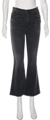 Current/Elliott High-Rise Wide-Leg Jeans