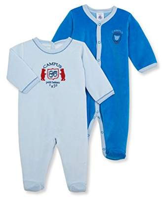 Petit Bateau Baby-Boys Lot Salsa Footies,(Manufacturer Size:3 Months)