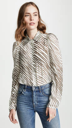 See by Chloe Zebra Blouse