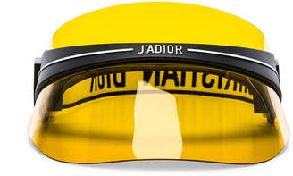 Dior Club 1 Visor in Yellow | FWRD