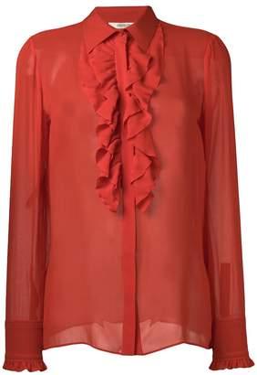 Roberto Cavalli ruffled shirt