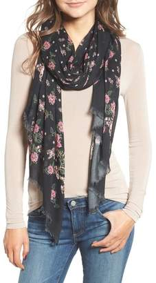 Rebecca Minkoff Mixed Floral Oblong Scarf
