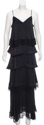 Rebecca Minkoff Lace-Trimmed Slip Dress